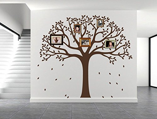 wall decal tree branch brown - 5