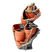MagiDeal Resin Doll Sky Garden Garden Planter Bed Box Herb Cacti Succulent Pot Bonsai