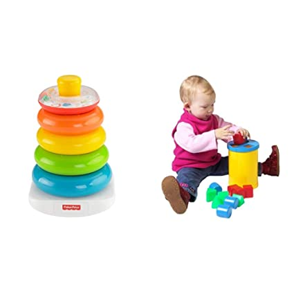 bdca261787e Buy Fisher-Price Brilliant Basics Rock-a-Stack