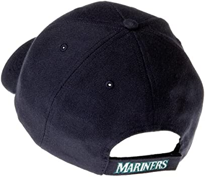 navy Seattle Mariners MVP Adjustable Cap