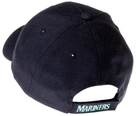 amazon mariners adjustable cap navy sports fan baseball caps clothing womens