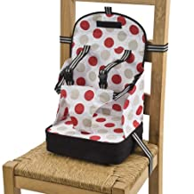 Go Anywhere Booster Travel Seat – Red/Black