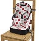 Go Anywhere Booster Travel Seat - Red/Black
