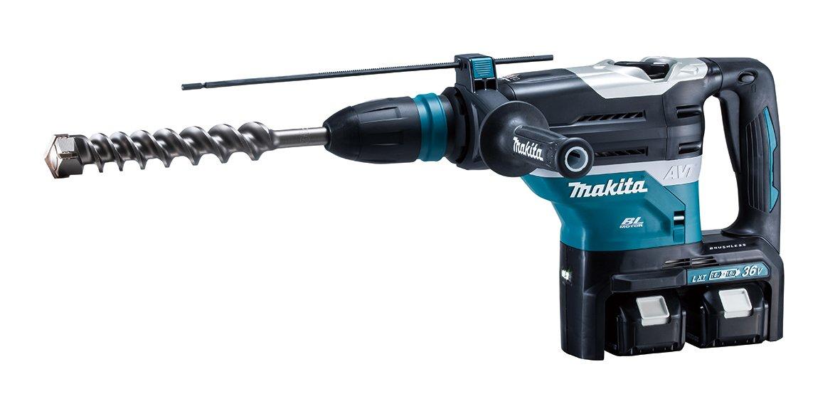 マキタ 40mm充電式ハンマドリル 18V 6Ah バッテリ2本・充電器・ケース付 HR400DPG2