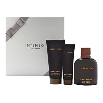Dolce and Gabbana Intenso 125ml Eau De Parfum 100ml Aftershave Balm and  50ml Shower Gel Set cabbd24d563a