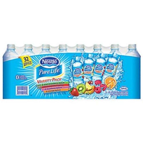 Nestle Variety Natural Flavored Bottles