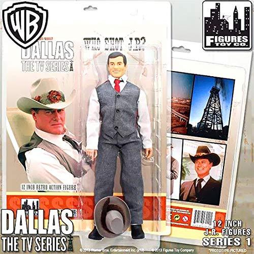 Action Figure – Dallas who shot Jr Ewing 30,5 cm giocattoli con licenza DALLAS1202