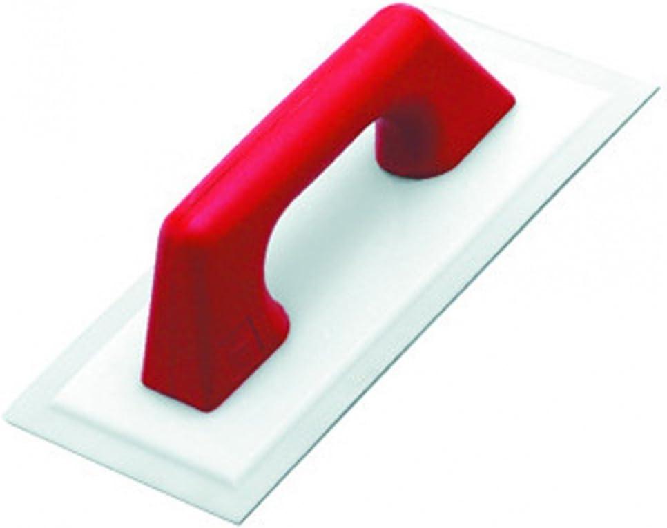 Rubi 71904 Llana flexible para yeso con mango plástico, Gris, 30 x 14 cm
