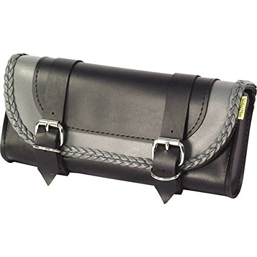 Thunder Studded Tool Pouch (Dowco Gray Thunder Series Studded Tool Pouch Tp245 Willie & Max -)