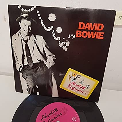 "DAVID BOWIE, absolute beginners, B side absolute beginners dub mix , VS 838, 7"" single"