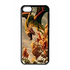 James-Bagg Phone case dragon at sky pattern For ipod touch4 FHYY427646