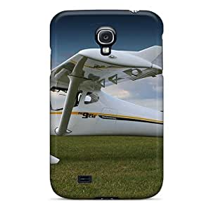 AmlBADE8068SLMzv Snap On Case Cover Skin For Galaxy S4(plane In The Field)