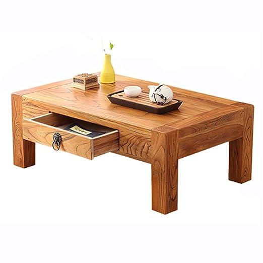 Liuwubing Mesa de Centro de Madera Maciza China Mini Mesa de té ...