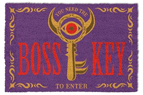 - 1art1 The Legend of Zelda Door Mat Floor Mat - Boss Key (24 x 16 inches)