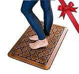 Licloud Anti-fatigue Mat Non-toxic Kitchen Floor Mat Comfort Mat Desk Mat (20x32x3/4-Inch, Antique Light)