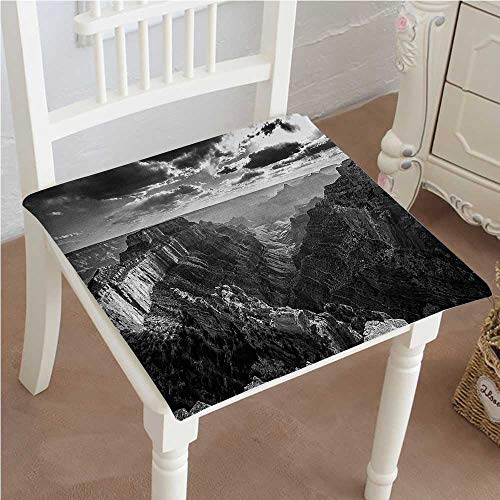 Chair Pads Square Cotton Chair Cushion of Cape Royal Deep and Grand Canyon Gorge North Rim with Misty Sky Grey Soft Thicken Seat Pads Cushion Pillow for Office,Home or Car 32