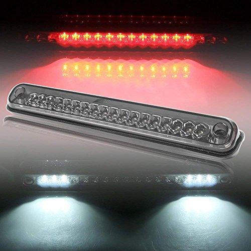 Mallofusa LED Third Brake Light For 1994-1999 Chevy C/K 1500 2500 3500 GMC C/K 1500 2500 3500 Smoke High Mount 3rd Brake Light Red & White Rear Tail Cargo Lamp