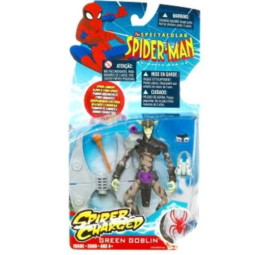 - Spectacular Spider-Man Animated Action Figure Green Goblin (Spider Charged!) by Marvel