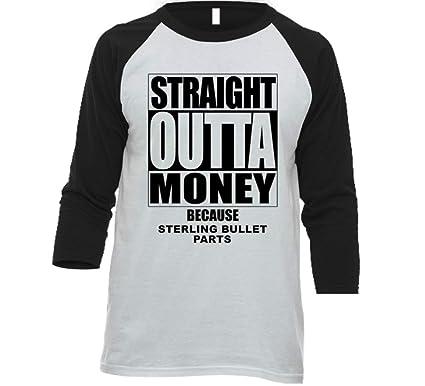 Tshirtshark Straight Outta Money Sterling Bullet Car Lover