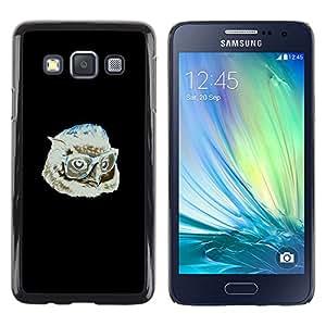 LECELL--Funda protectora / Cubierta / Piel For Samsung Galaxy A3 -- Hipster Búho --