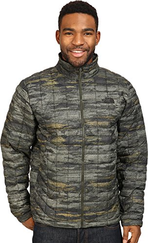The North Face Men's Thermoball Fullzip Green Glamo Nylon Jacket L by The North Face