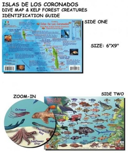 Franko Maps Coronados Islands (Mexico) Fish ID for Scuba Divers and Snorkelers