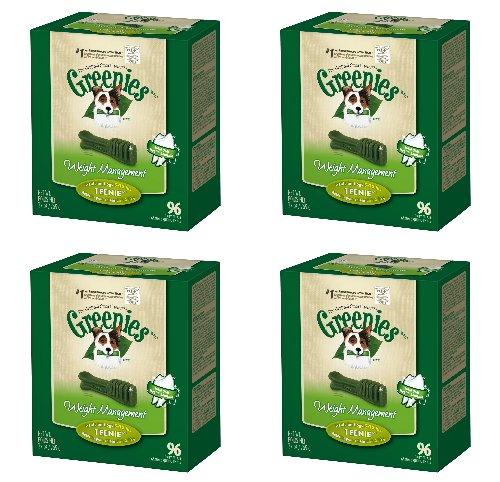 Greenies Weight Management 4 Mega 27oz Tubs 108oz 384 Bones