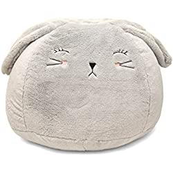 Heritage Kids Bunny Bean Bag, Grey