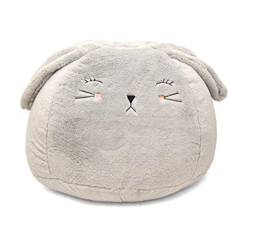 Heritage Kids Bunny Bean Bag, Grey