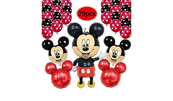 Globos del Partido 29pcs / Lot 110CM Minnie Mickey Mouse ...