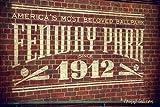 Fenway Park 1912 Interior Vintage Print - Boston Prints - Red Sox Wall Art - Fenway Park Decor offers