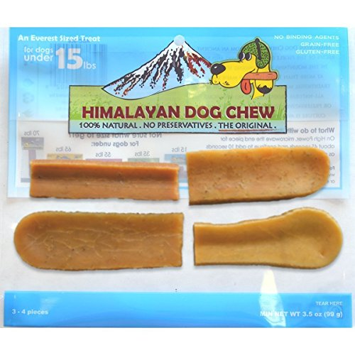 - Himalayan Dog Chews 100% Natural, Small, 3.5 Oz., 3-4 Piece