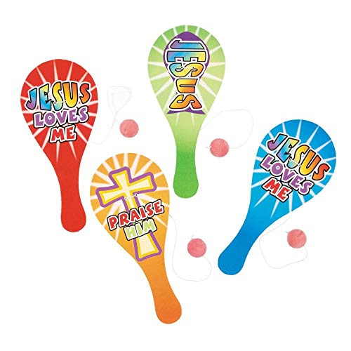 Religious Paddleball Games by Fun Express