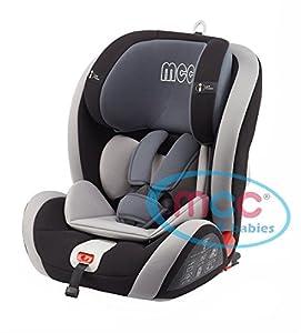 mcc isofix convertible baby car seat group 1 2 3 9 36kg grey black pink blue purple. Black Bedroom Furniture Sets. Home Design Ideas