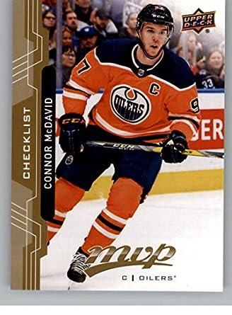Amazon.com  2018-19 UD MVP  200 Connor McDavid Edmonton Oilers Upper ... c295775fa