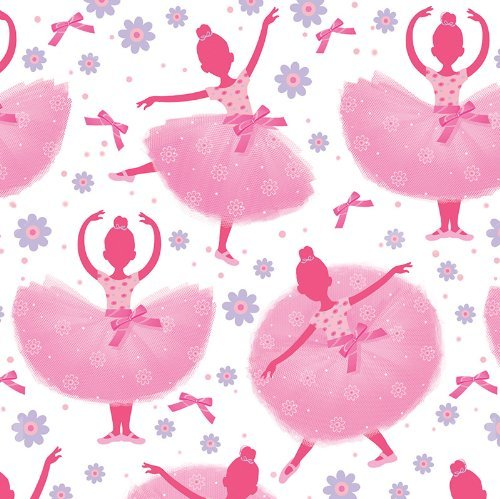 Ballet/Ballerina Deluxe Party Supply Bundle Tutu Much Fun For 16 Guests - Includes Plates, Napkins, Forks, Cups, Tablecover, Treat Bags and Favors by BlackLabel Direct (Image #4)