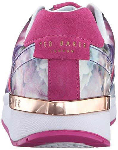 Ted Baker Kvinna Phressya Tre Mode Sneaker Fokus Bukett / Mörkblå