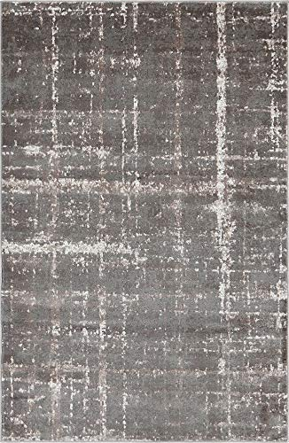 A2Z Rug Jill Zarin Collection Gray 5' x 8' Feet Luxury Area Rugs Quality Product by Jill Zarin (Zara Rug Collection)