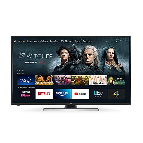 "JVC Fire TV Edition 40"" Smart 4K Ultra HD HDR LED TV"