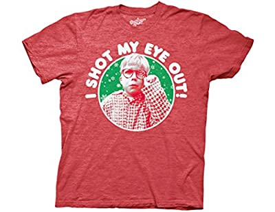 Ripple Junction A Christmas Story Shot My Eye Out Adult T-Shirt