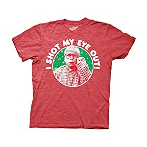 Ripple Junction A Christmas Story Shot My Eye Out Adult T-Shirt | NEW Comedy Trailers | ComedyTrailers.com