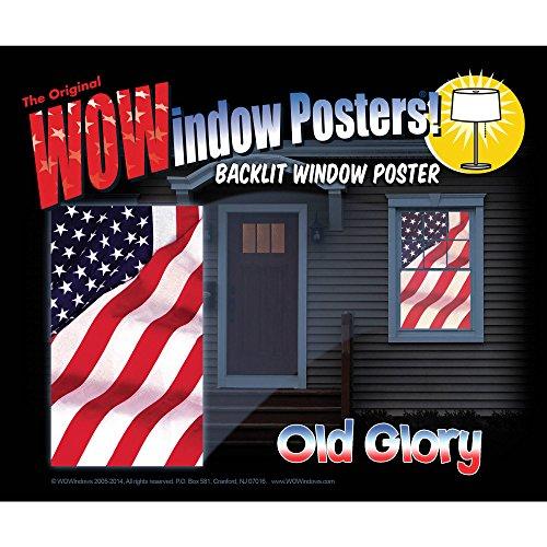 Old Glory Wowindow Poster Halloween Decoration -