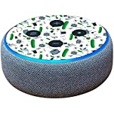 MightySkins Skin for Amazon Echo Dot (3rd Gen) - Science Cartoon | Protective, Durable, and Unique Vinyl Decal wrap Cover | Easy to Apply, Remove, and Change Styles | Made in The USA