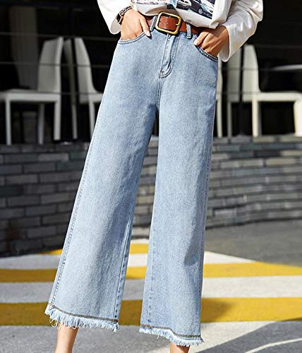f06d5425d9d4 Image unavailable image not available for color dhmart jeans women wide leg  pants season high waist