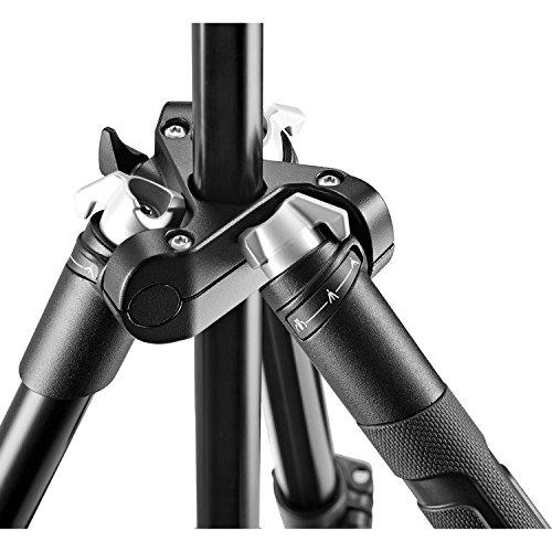 Manfrotto Travel Befree Live Aluminium Tripod Twist MVKBFRT-LIVEUS Black Compact Video Head
