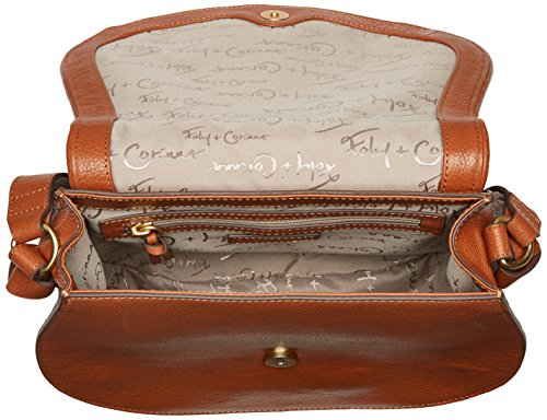 Saddle Charlotte Foley Corinna Bag Honey Brown EPTng6nY