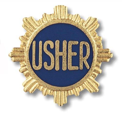 Prestige Medical Emblem Pin, Usher (Usher Pins)