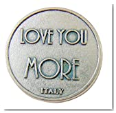Westman Works Love You More XO Pocket Token 1 1/4 Inch