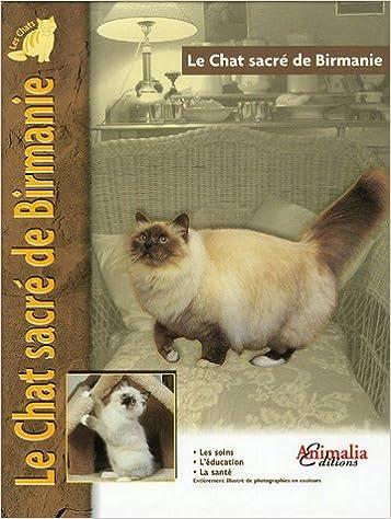 Livre Le Chat sacré de Birmanie pdf