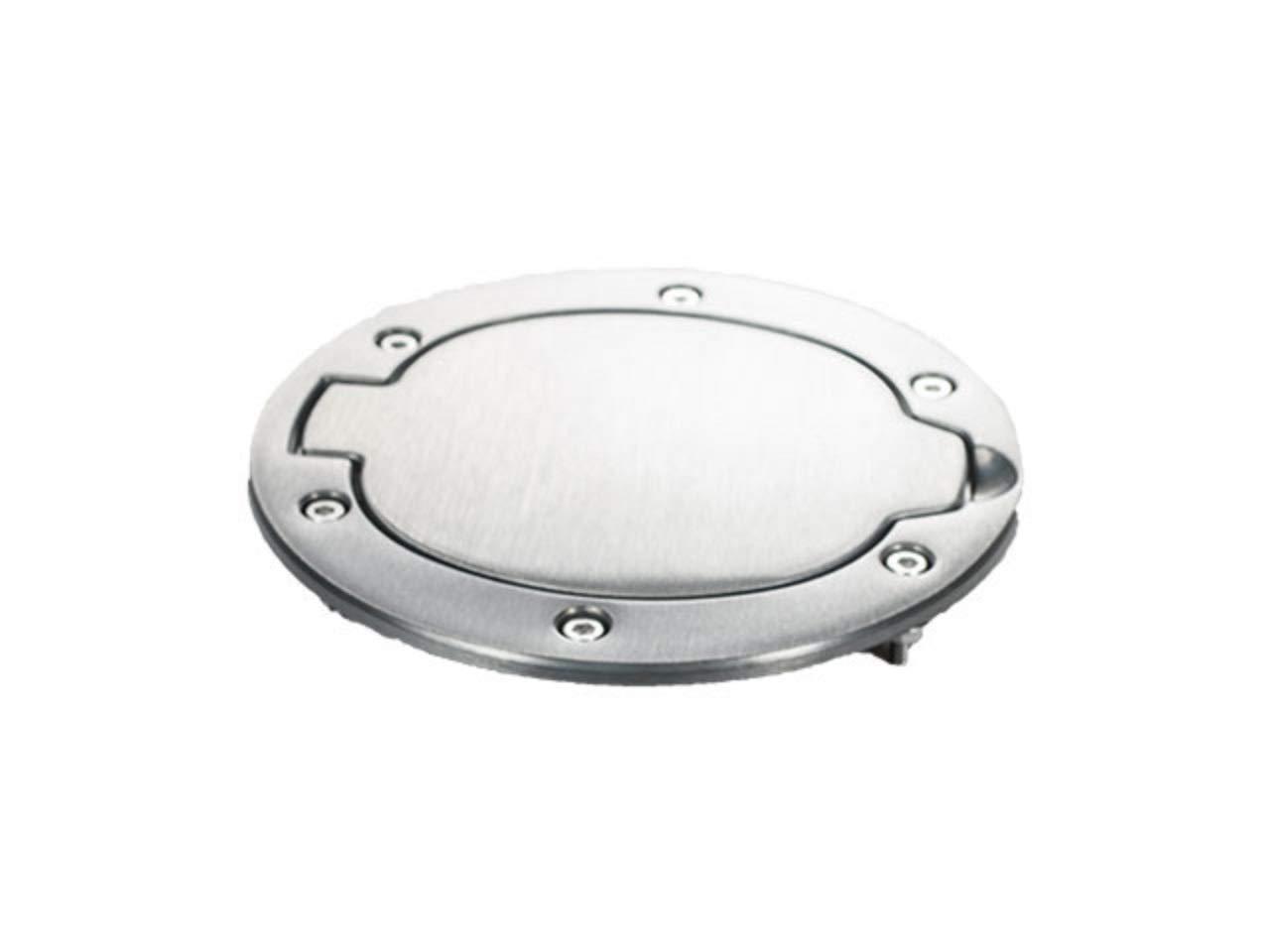 1 Pack Mopar 82207715 Brushed Aluminum Fuel Filler Door